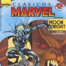 Cómics: CLÁSICOS MARVEL VOL.1 Nº 8 CABALLERO LUNA - FORUM. Lote 95612259