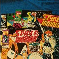 Cómics: SPIDER WOMAN COLECCION COMPLETA 4 NUMEROS EL ESTADO ES IMPECABLE. Lote 95636967