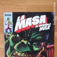 Cómics: LA MASA HULK FORUM 31. Lote 95680399