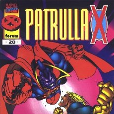 Cómics: PATRULLA-X VOL.2 Nº 20 - FORUM IMPECABLE. Lote 95683159