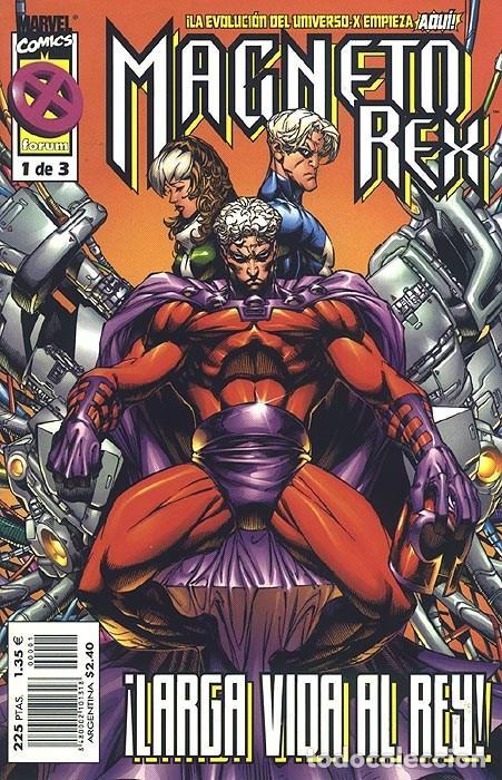 MAGNETO REX Nº 1 - FORUM (Tebeos y Comics - Forum - Otros Forum)