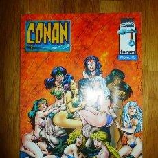 Cómics: CONAN. NÚM. 10 : QUEEN OF THE AMAZONS = LA REINA DE LAS AMAZONAS. Lote 95691603