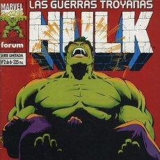 Cómics: HULK: LAS GUERRAS TROYANAS Nº 2 - FORUM EXCELENTE ESTADO. Lote 95702875