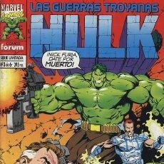 Cómics: HULK: LAS GUERRAS TROYANAS Nº 3 - FORUM EXCELENTE ESTADO. Lote 95702895