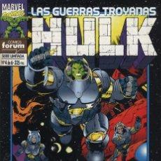 Cómics: HULK: LAS GUERRAS TROYANAS Nº 4 - FORUM EXCELENTE ESTADO. Lote 95702915