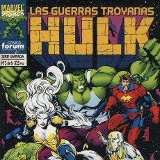 Cómics: HULK: LAS GUERRAS TROYANAS Nº 5 - FORUM EXCELENTE ESTADO. Lote 95702927