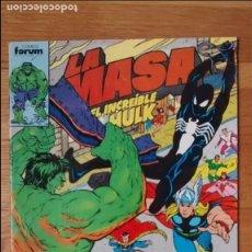 Cómics: LA MASA HULK FORUM 37 CON VENGADORES Y SPIDERMAN. Lote 95705043
