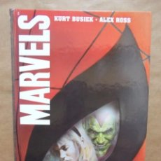 Cómics: MARVELS - KURT BUSIEK Y ALEX ROSS - CARTONÉ - PERFECTO ESTADO - FORUM - JMV. Lote 95753279