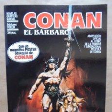 Cómics: NOVELAS GRÁFICAS MARVEL - CONAN EL BÁRBARO - FORUM - JMV. Lote 95753679