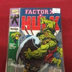 Cómics: FORUM FACTOR X Y HULK NUMERO 3 MUY BUEN ESTADO REF.44. Lote 95787707