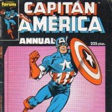 Cómics: CAPITÁN AMÉRICA ESPECIAL PRIMAVERA 1987 - FORUM. Lote 95820267
