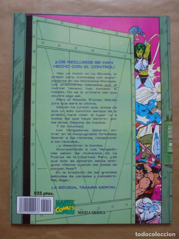 Cómics: Novelas gráficas Marvel - Los Vengadores la bóveda trampa mortal - Perfecto estado - JMV - Foto 2 - 95825587
