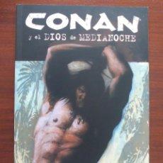 Cómics: CONAN Y EL DIOS DE MEDIANOCHE PLANETA. Lote 95852603