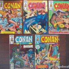 Cómics: LOTE 5 COMICS CONAN EL BÁRBARO VOL.1 FORUM Nº 31, 67, 70, 73 Y 75. Lote 95852639