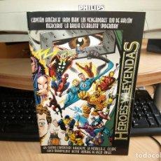 Cómics: HEROES Y LEYENDAS - AÑO 1997 - FORUM. Lote 95856539