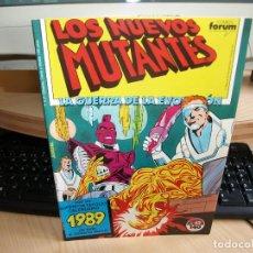 Cómics: LOS NUEVOS MUTANTES - NÚMERO 42 - AÑO 1988 - FORUM. Lote 95856703