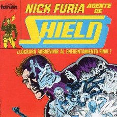 Cómics: NICK FURIA, AGENTE DE SHIELD VOL.1 Nº 6 - FORUM. Lote 95878043
