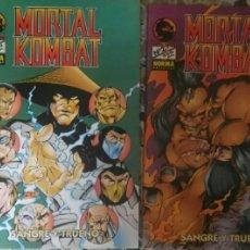 Cómics: MORTAL KOMBAT 1,2,3,4. Lote 95942870