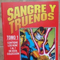 Cómics: THOR : SANGRE Y TRUENOS - COMPLETA -. Lote 95969831