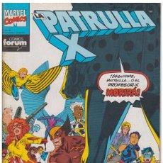 Cómics: LA PATRULLA-X VOL.1 Nº 112 - FORUM (DICIEMBRE 1991) 001. Lote 95987007