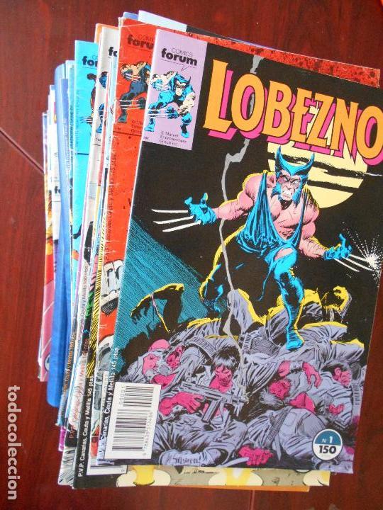 LOBEZNO - VOLUMEN 1 - COLECCION COMPLETA - 78 NUMEROS - FORUM - LEER DESCRIPCION (6N) (Tebeos y Comics - Forum - Otros Forum)