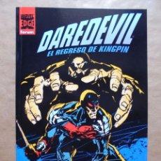 Cómics: DAREDEVIL EL REGRESO DE KINGPIN - FORUM - PERFECTO ESTADO - JMV. Lote 96022431