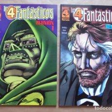 Cómics: LOS 4 FANTÁSTICOS - REUNIÓN 1 Y 2 COMPLETA - FORUM - PERFECTO ESTADO - JMV. Lote 96023199