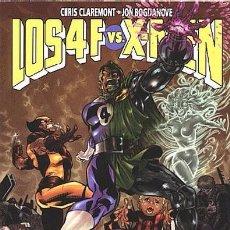 Cómics: LOS 4 FANTÁSTICOS VS. X-MEN - FORUM 1998 - CLAREMONT JON BOGDANOVE CUATRO FANTASTICOS PATRULLA-X. Lote 96023507