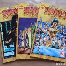 Cómics: SHANG-CHI MASTER OF KUNG-FU 1 A 3 COMPLETA - FORUM - PERFECTO ESTADO - JMV. Lote 96023715
