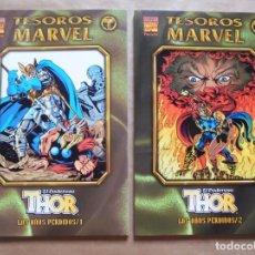 Cómics: TESOROS MARVEL - THOR - LOS AÑOS PERDIDOS 1 Y 2 - FORUM - PERFECTO ESTADO - JMV. Lote 96025019