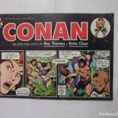 Cómics: CONAN Nº 4. LAS DAILY-STRIP COMICS DE ROY THOMAS Y ERNIE CHAN. TDKC28. Lote 96179187