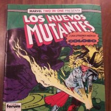 Cómics: LOS NUEVOS MUTANTES Nº 49 FORUM. MARVEL TWO IN ONE CON COLOSO.. Lote 96190015