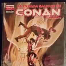 Comics : LA ESPADA SALVAJE DE CONAN. EDICIÓN COLECCIONISTA Nº 1 FORUM. Lote 96251359