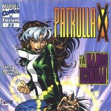 Cómics: PATRULLA-X VOL.2 Nº 33 - FORUM IMPECABLE. Lote 96308695