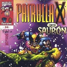 Cómics: PATRULLA-X VOL.2 Nº 34 - FORUM IMPECABLE. Lote 96308707