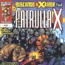 Cómics: PATRULLA-X VOL.2 Nº 43 - FORUM IMPECABLE. Lote 96309075