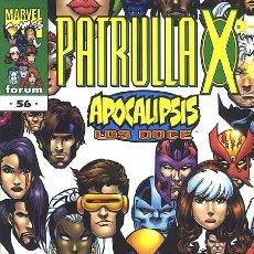 Cómics: PATRULLA-X VOL.2 Nº 56 - FORUM IMPECABLE. Lote 96309419