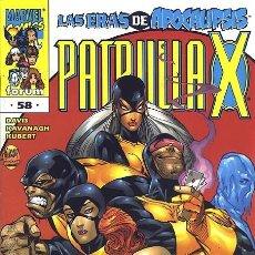 Cómics: PATRULLA-X VOL.2 Nº 58 - FORUM IMPECABLE. Lote 96309475
