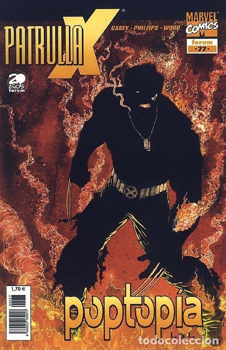 PATRULLA-X VOL.2 Nº 77 - FORUM IMPECABLE (Tebeos y Comics - Forum - Patrulla X)