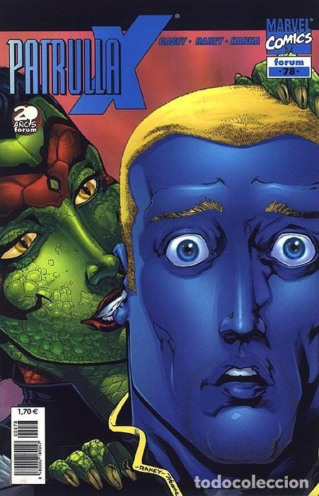 PATRULLA-X VOL.2 Nº 78 - FORUM IMPECABLE (Tebeos y Comics - Forum - Patrulla X)