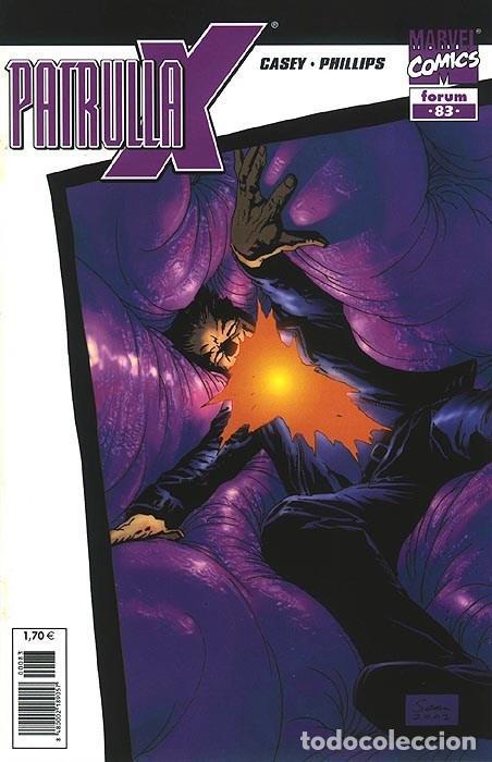 PATRULLA-X VOL.2 Nº 83 - FORUM IMPECABLE (Tebeos y Comics - Forum - Patrulla X)