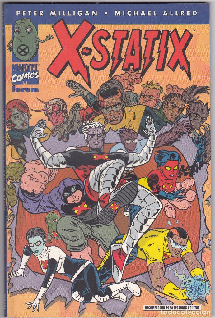 X-STATIX - Nº 1 - BUENOS PRESAGIOS - FORUM. (Tebeos y Comics - Forum - Prestiges y Tomos)