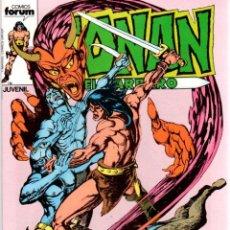 Comics : CONAN EL BARBARO. Nº 64. LA ESPADA ENJOYADA DE TEM. FORUM. AÑO 1983. Lote 96509035