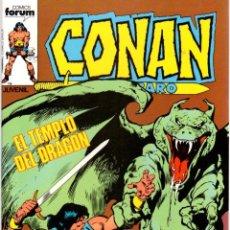 Comics : CONAN EL BARBARO. Nº 65. EL TEMPLO DEL DRAGON. FORUM. AÑO 1983. Lote 96509559