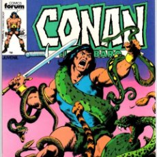 Comics : CONAN EL BARBARO. Nº 63. EL DESTRUCTOR EN LA LLAMA. FORUM. AÑO 1983. Lote 96574335