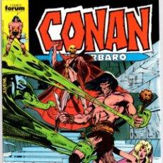 Comics : CONAN EL BARBARO. Nº 88. LA MALDICION DE LA CALAVERA DORADA. FORUM. AÑO 1983. Lote 96576039
