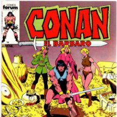 Comics : CONAN EL BARBARO. Nº 52. LA NOCHE DE LAS TRES HERMANAS. FORUM. AÑO 1983. Lote 96586459
