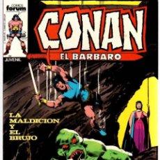 Comics : CONAN EL BARBARO. Nº 59. LA MALDICION Y EL BRUJO. FORUM. AÑO 1983. Lote 96586999