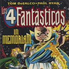 Cómics: LOS 4 FANTÁSTICOS - IN MEMORIAN - FORUM (MARZO 1996) 007. Lote 96653015