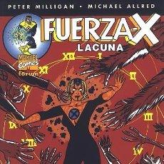Cómics: FUERZA-X: LACUNA (1 TOMO FORUM). Lote 96665451